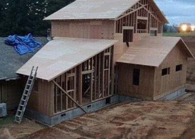 construction side house